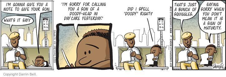 Comic Strip Darrin Bell  Candorville 2012-07-24 mature