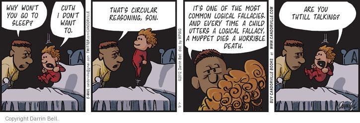 Comic Strip Darrin Bell  Candorville 2012-07-26 die