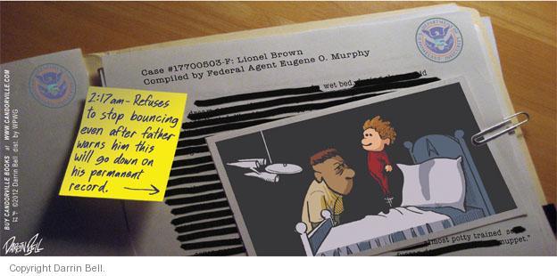 Comic Strip Darrin Bell  Candorville 2012-08-12 brown