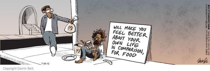Comic Strip Darrin Bell  Candorville 2012-07-30 better