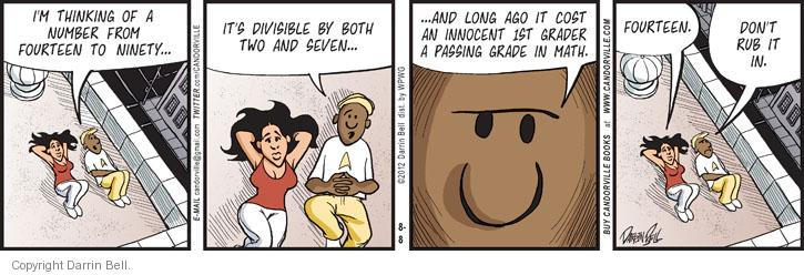 Comic Strip Darrin Bell  Candorville 2012-08-08 education
