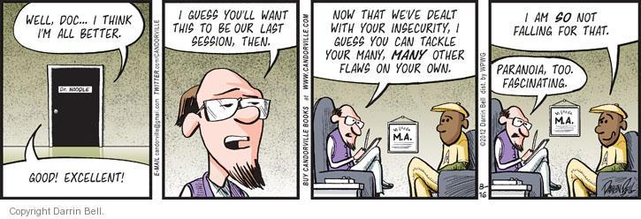 Comic Strip Darrin Bell  Candorville 2012-08-16 psychology