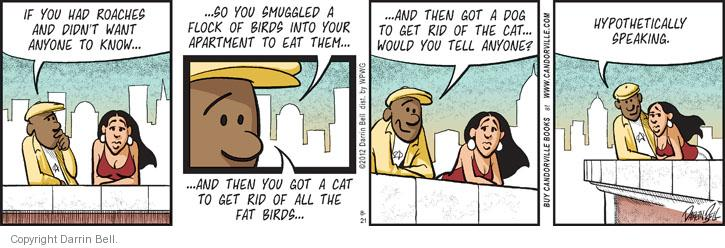 Comic Strip Darrin Bell  Candorville 2012-08-21 cat