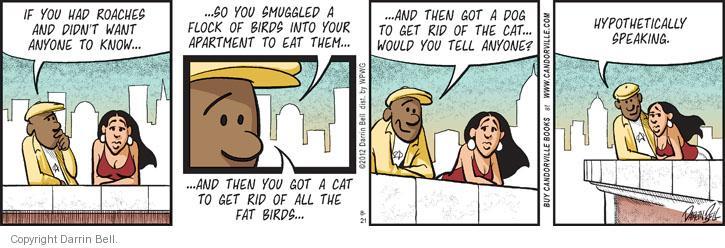 Comic Strip Darrin Bell  Candorville 2012-08-21 cat