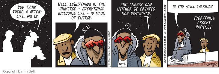 Comic Strip Darrin Bell  Candorville 2012-08-25 friendship