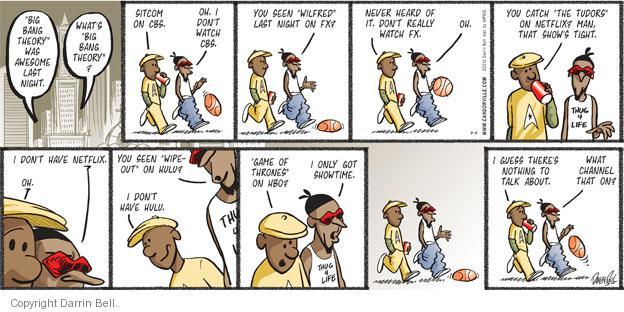 Comic Strip Darrin Bell  Candorville 2012-09-09 friendship