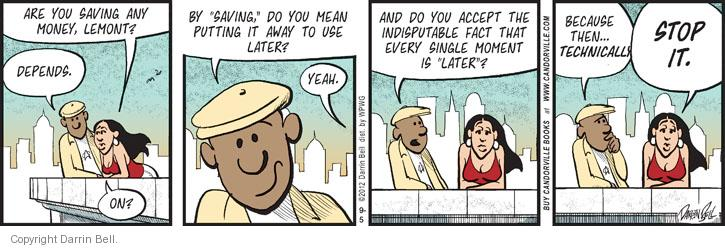 Comic Strip Darrin Bell  Candorville 2012-09-05 finance