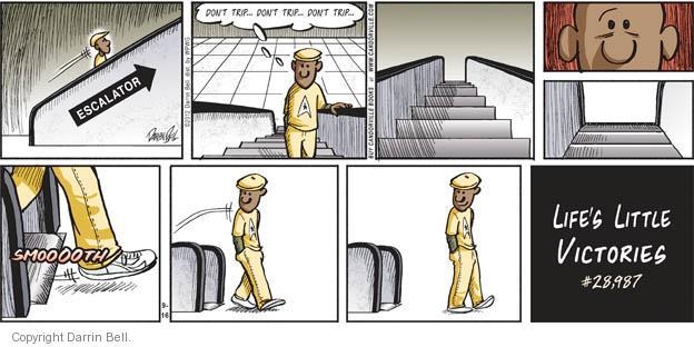 Comic Strip Darrin Bell  Candorville 2012-09-16 accomplishment