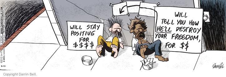Comic Strip Darrin Bell  Candorville 2012-09-13 destroy