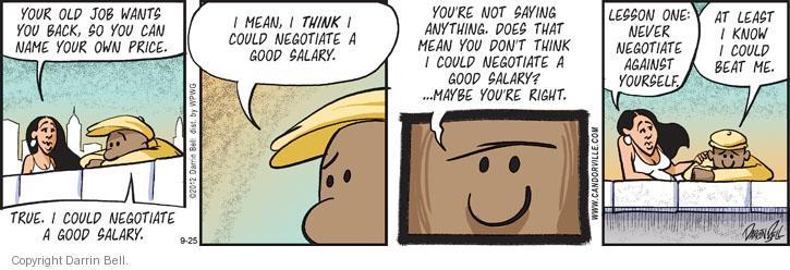 Comic Strip Darrin Bell  Candorville 2012-09-25 good