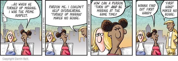 Comic Strip Darrin Bell  Candorville 2012-09-29 pardon me