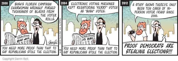 Comic Strip Darrin Bell  Candorville 2012-10-02 election