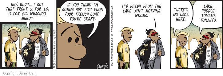 Comic Strip Darrin Bell  Candorville 2012-10-19 gonna