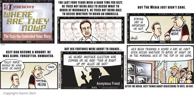 Comic Strip Darrin Bell  Candorville 2012-10-28 2012 election