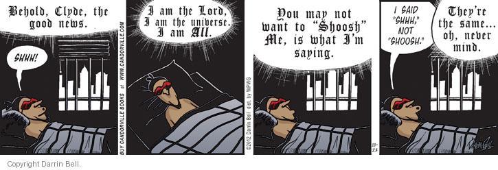 Comic Strip Darrin Bell  Candorville 2012-10-23 behold