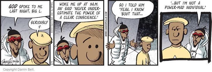 Comic Strip Darrin Bell  Candorville 2012-10-25 individual