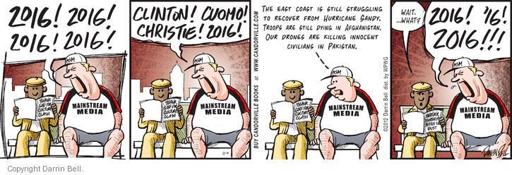 Comic Strip Darrin Bell  Candorville 2012-11-09 Afghanistan