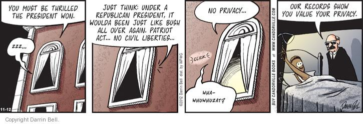 Comic Strip Darrin Bell  Candorville 2012-11-12 national security