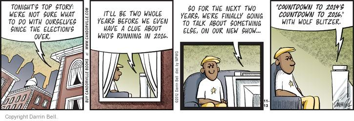 Comic Strip Darrin Bell  Candorville 2012-11-13 2014 election