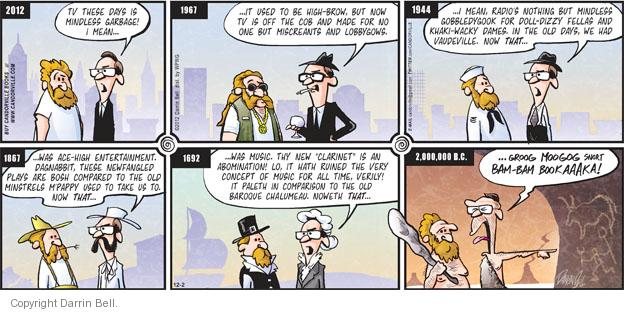 Comic Strip Darrin Bell  Candorville 2012-12-02 thee