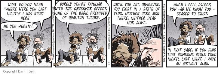 Comic Strip Darrin Bell  Candorville 2012-11-20 familiar