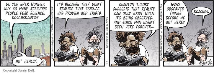 Comic Strip Darrin Bell  Candorville 2012-11-21 religion science