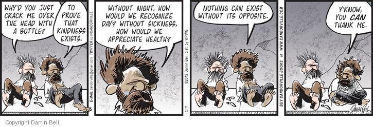 Comic Strip Darrin Bell  Candorville 2012-11-22 overhead