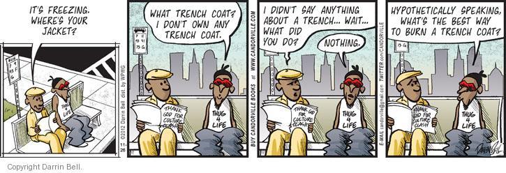 Comic Strip Darrin Bell  Candorville 2012-11-26 hide
