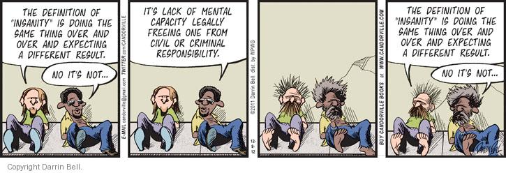 Comic Strip Darrin Bell  Candorville 2012-12-08 mental