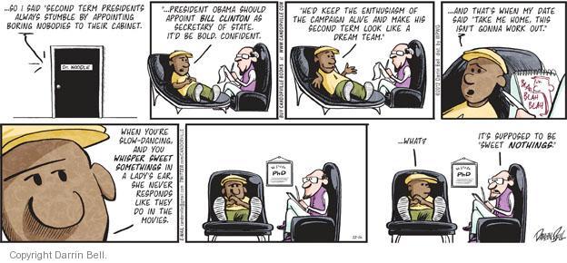 Comic Strip Darrin Bell  Candorville 2012-12-16 romantic