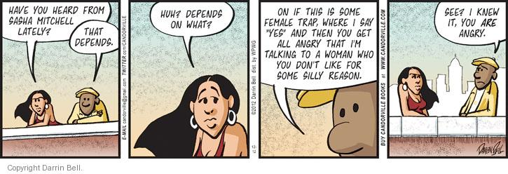 Comic Strip Darrin Bell  Candorville 2012-12-12 anger