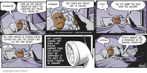 Comic Strip Darrin Bell  Candorville 2012-12-30 procedure