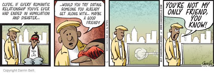 Comic Strip Darrin Bell  Candorville 2013-01-07 date