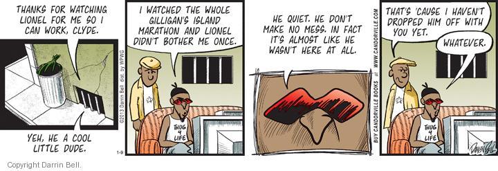 Comic Strip Darrin Bell  Candorville 2013-01-09 childcare