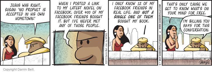Comic Strip Darrin Bell  Candorville 2013-01-23 link