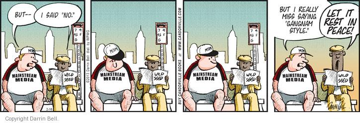 Comic Strip Darrin Bell  Candorville 2013-02-16 style