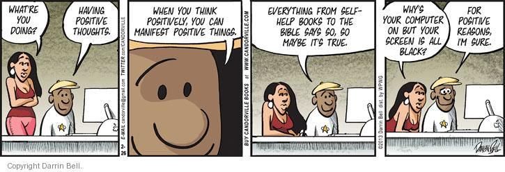 Comic Strip Darrin Bell  Candorville 2013-02-26 truth