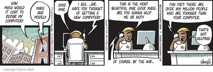Comic Strip Darrin Bell  Candorville 2013-02-28 younger