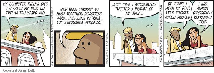 Comic Strip Darrin Bell  Candorville 2013-03-01 wedding