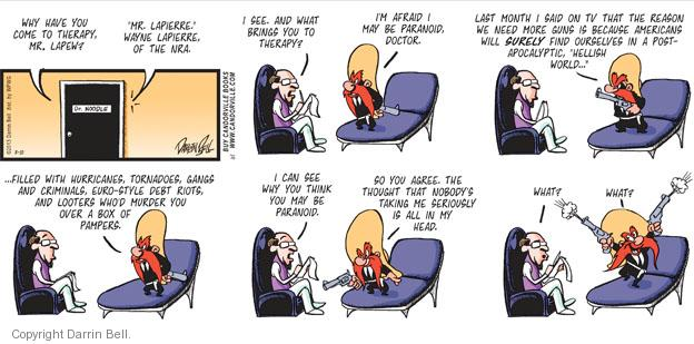 Comic Strip Darrin Bell  Candorville 2013-03-10 national