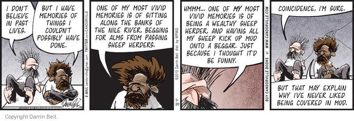 Comic Strip Darrin Bell  Candorville 2013-03-20 coincidence