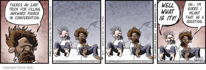 Comic Strip Darrin Bell  Candorville 2013-03-21 pause
