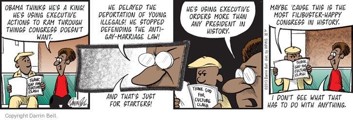 Cartoonist Darrin Bell  Candorville 2013-03-30 politics