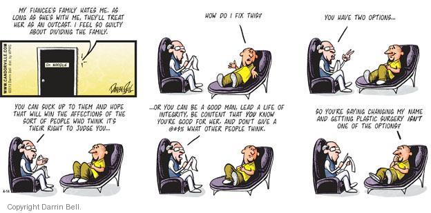 Cartoonist Darrin Bell  Candorville 2013-04-14 option