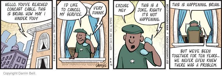 Comic Strip Darrin Bell  Candorville 2013-04-08 publishing