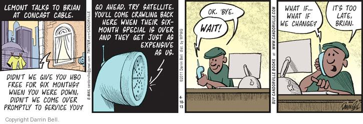 Comic Strip Darrin Bell  Candorville 2013-04-10 expense