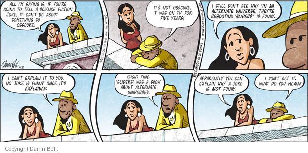 Comic Strip Darrin Bell  Candorville 2013-04-21 something