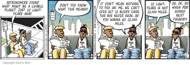 Comic Strip Darrin Bell  Candorville 2013-04-19 bus