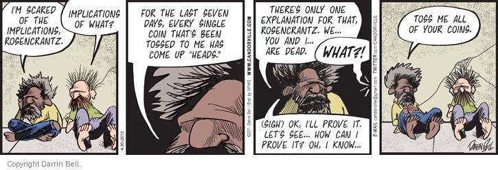Comic Strip Darrin Bell  Candorville 2013-04-30 fear