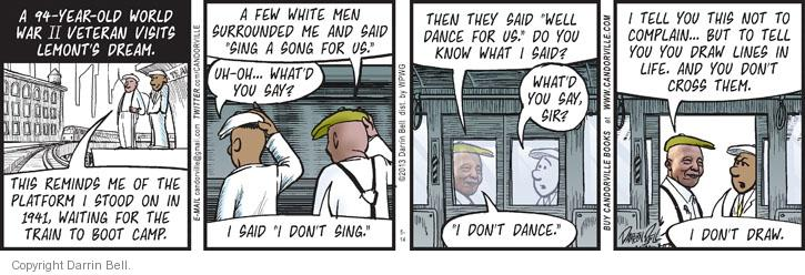 Comic Strip Darrin Bell  Candorville 2013-05-14 army